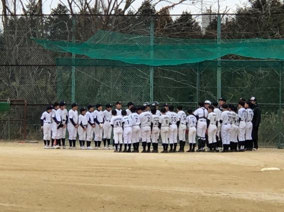 練習試合vs滋賀大津ボーイズ